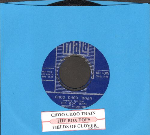 Box Tops - Choo Choo Train/Fields Of Clover (with juke box label) - NM9/ - 45 rpm Records
