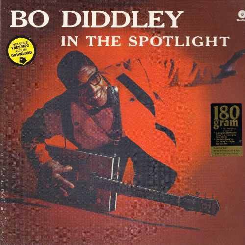 Diddley, Bo - In The Spotlight: Road Runner, Story Of Bo Diddley, Love Me, Live My Life, Craw-Dad  (180 gram Virgin Vinyl re-issue, EU Pressing, SEALED, never opened!) - SEALED/SEALED - LP Records