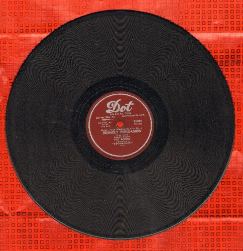 Boone, Pat - Friendly Persuasion/Chains Of Love (RARE 10 inch 78rpm record) - VG7/ - 78 rpm