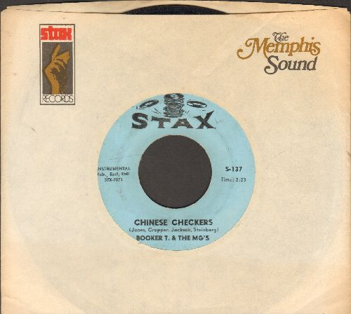 Booker T. & The MG's - Chinese Checkers/Plum-Nellie (with Stax company sleeve) - VG7/ - 45 rpm Records