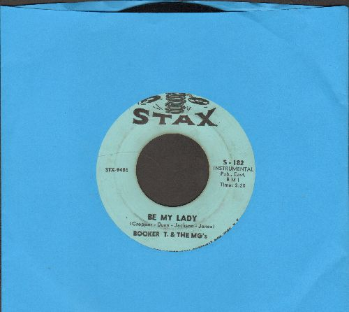 Booker T. & The M.G.'s - Red Beans And Rice/Be My Lady - EX8/ - 45 rpm Records