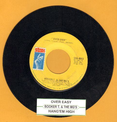 Booker T. & The M.G.'s - Over Easy/Hang 'Em High (with juke box label) - EX8/ - 45 rpm Records