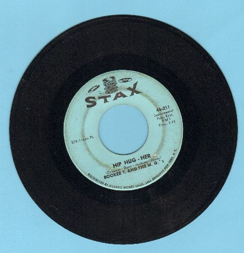 Booker T. & The M.G.'s - Hip Hug-Her/Summertime  - VG6/ - 45 rpm Records