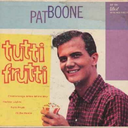 Boone, Pat - Songs From Friendly Persuasion: Indiana Holiday/Marry Me, Marry Me/Coax Me A Little/The Mocking Bird In The Willow Tree (EP with picture cover) - VG6/EX8 - 45 rpm Records