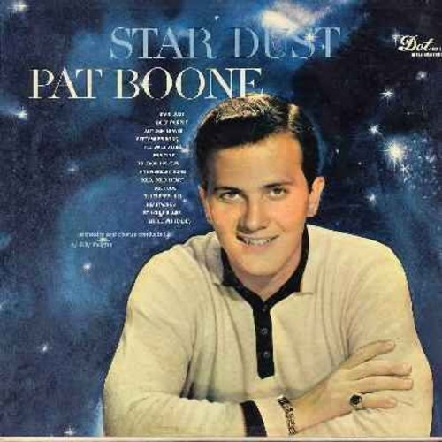 Boone, Pat - Star Dust: Deep Purple, September Song, Anniversary Song, Blueberry Hill, St. Louis Blues (Vinyl MONO LP record, NICE Condition!) - NM9/EX8 - LP Records