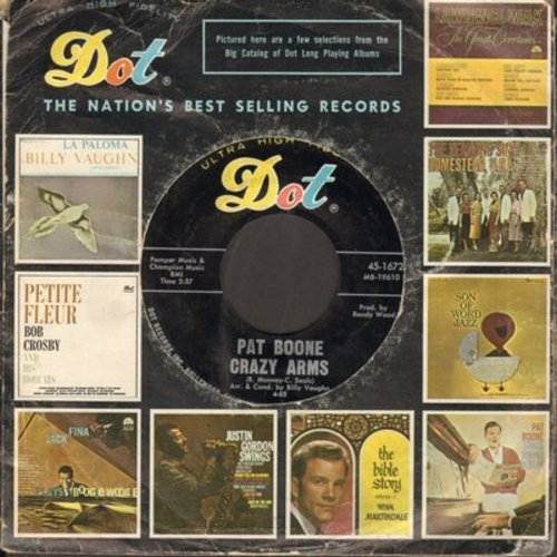 Boone, Pat - Crazy Arms/Pearly Shells - NM9/ - 45 rpm Records