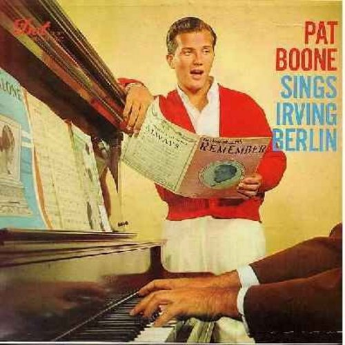 Boone, Pat - Pat Boone Sings: April Love, Sugar Moon, A Wonderful Time Up There, It's Too Soon To Know, Gee But It's Lonely (vinyl MONO LP record) - EX8/EX8 - LP Records