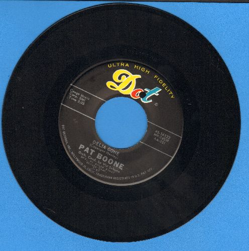 Boone, Pat - Candy Sweet/Delia Gone - EX8/ - 45 rpm Records