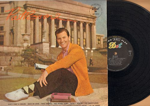 Boone, Pat - Pat Boone: Ain't That A Shame, Tutti Frutti, I'll Be Home, Two Hearts (Vinyl MONO LP record) - NM9/VG7 - LP Records