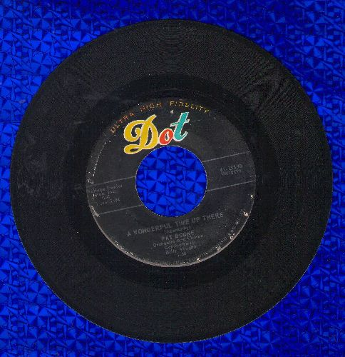 Boone, Pat - A Wonderful Time Up There/It's Too Soon To Know  - EX8/ - 45 rpm Records
