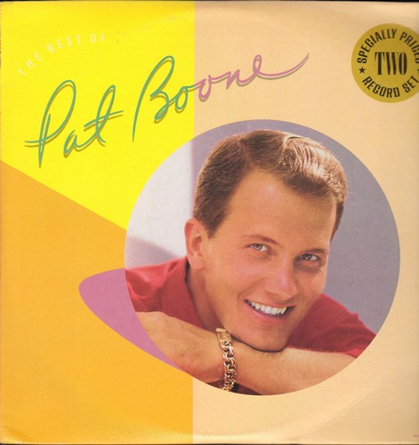 Boone, Pat - Pat Boone: Bernadine, Speedy Gonzales, April Love, Tutti Frutti, Friendly Persuasion, Ain't That A Shame (2 vinyl LP record set, re-issue of vintage recordings) - M10/NM9 - LP Records