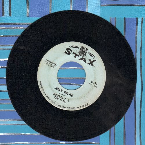 Booker T. & The M.G.'s - Aw' Mercy/Jelly Bread - EX8/ - 45 rpm Records