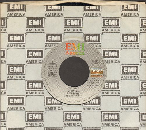 Bowie, David - Let's Dance/Cat People (Putting Out Fire) - EX8/ - 45 rpm Records