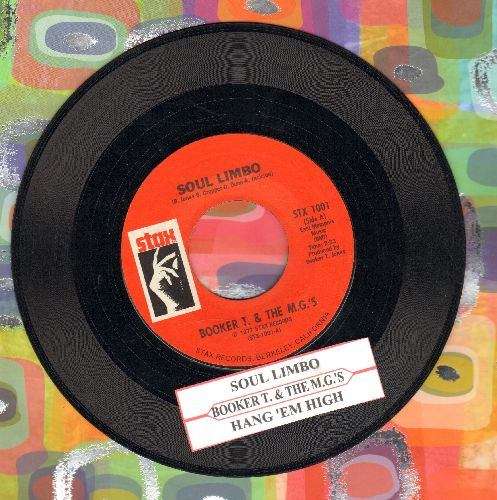 Booker T. & The M.G.'s - Soul Limbo/Hang 'Em High (double-hit re-issue with juke box label) - EX8/ - 45 rpm Records