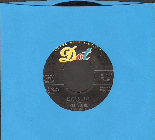 Boone, Pat - Lover's Lane/Ten Lonely Guys - EX8/ - 45 rpm Records