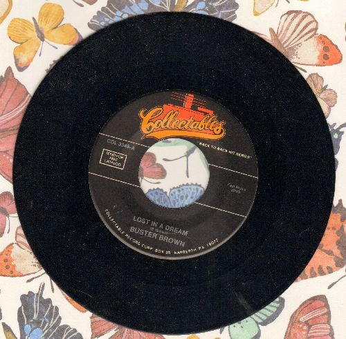 Brown, Buster - Madison/Lost In A Dream (re-issue with juke box label) - M10/ - 45 rpm Records