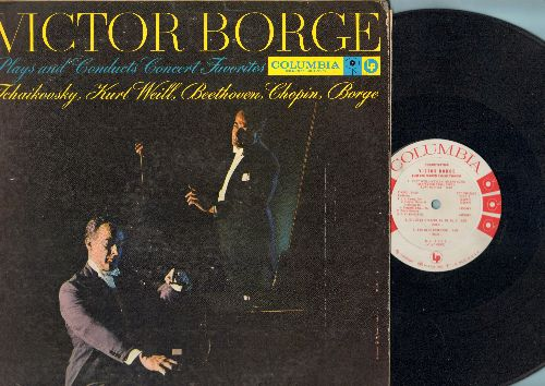 Borge, Victor - Victor Borge Plays and Conducts Favorites - Tchaikowsky, Kurt Weill, Betthoven, Chopin, Borge (vinyl MONO LP record, DJ advance pressing) - EX8/VG6 - LP Records