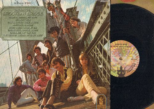 Brooklyn Bridge - The Second Brooklyn Bridge: Without Her, Minstral Sunday, You'll Never Walk Alone, Echo Park, Your Husband - My Wife (Vinyl STEREO LP record) - EX8/VG7 - LP Records