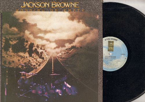 Browne, Jackson - Running On Empty: Cocaine, Nothing But Time, Stay, You Love The Thunder. The Road (vinyl STEREO LP record) - NM9/EX8 - LP Records