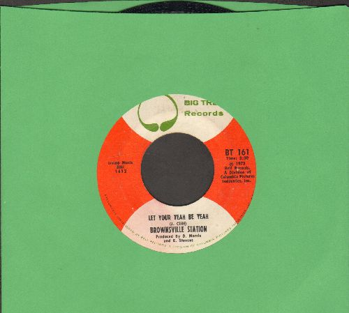 Brownsville Station - Let Your Yeah Be Yeah/Mister Robert - EX8/ - 45 rpm Records