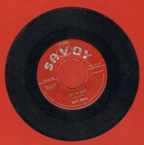 Brown, Nappy - Don't Be Angry/It's Really You  - VG7/ - 78 rpm