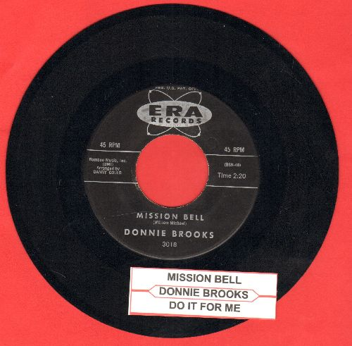 Brooks, Donnie - Mission Bell/Do It For Me (with juke box label) - EX8/ - 45 rpm Records