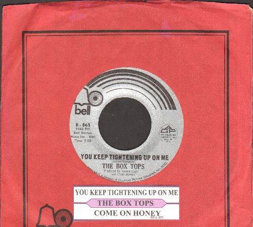 Box Tops - You Keep Tightening Up On Me/Come On Honey (RARE Bubblegum 2-sider with Bell company sleeve and juke box label) (bb) - M10/ - 45 rpm Records