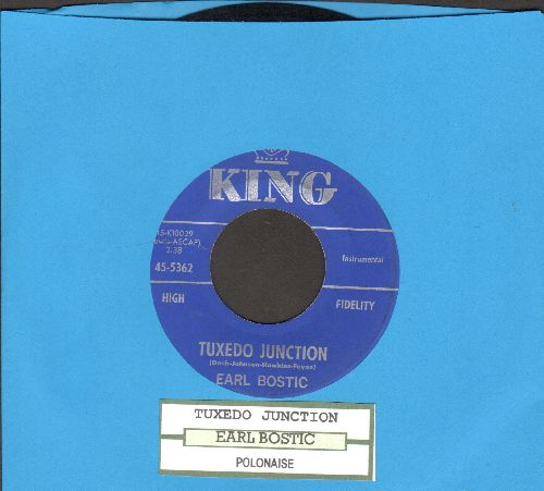 Bostic, Earl - Tuxedo Junktion/Polinaise (with juke box label) - EX8/ - 45 rpm Records