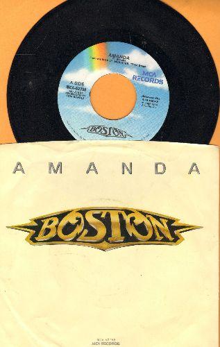 Boston - Amanda/My Destination (with picture sleeve) - NM9/EX8 - 45 rpm Records
