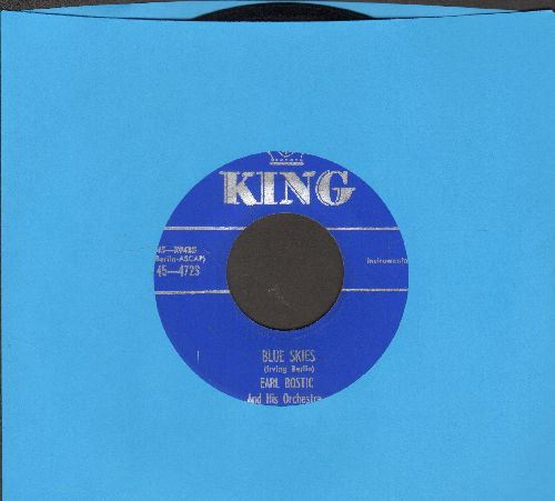 Bostic, Earl & His Orchestra - Blue Skies/Mambolia - NM9/ - 45 rpm Records