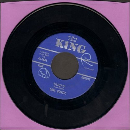 Bostic, Earl - Ducky/Deep In My Heart (minor wol) - NM9/ - 45 rpm Records