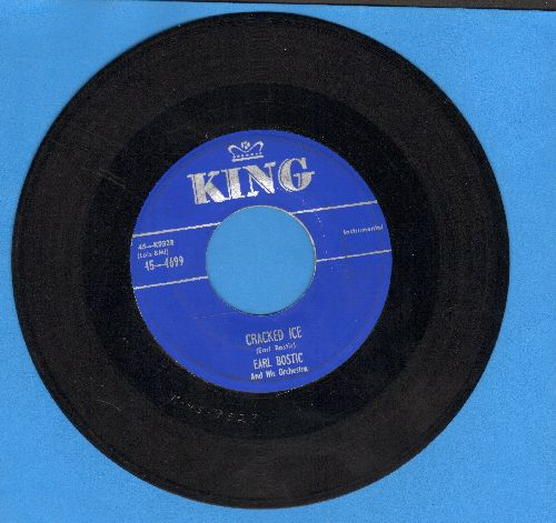 Bostic, Earl - Cracked Ice/My heart At Thy Sweet Voice - EX8/ - 45 rpm Records