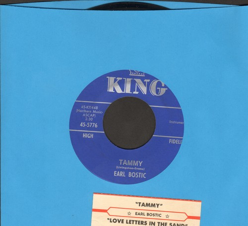 Bostic, Earl - Tammy/Love Letters In The Sand (with juke box label) - NM9/ - 45 rpm Records