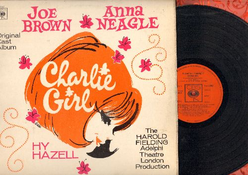 Brown, Joe, Anna Neagle - Charlei Girl - Original London Cast Album (vinyl STEREO LP record) - NM9/EX8 - LP Records