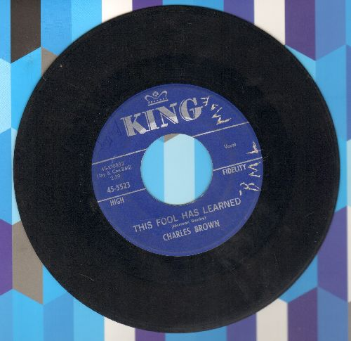Brown, Charles - Butterfly/This Fool Has Learned - VG7/ - 45 rpm Records