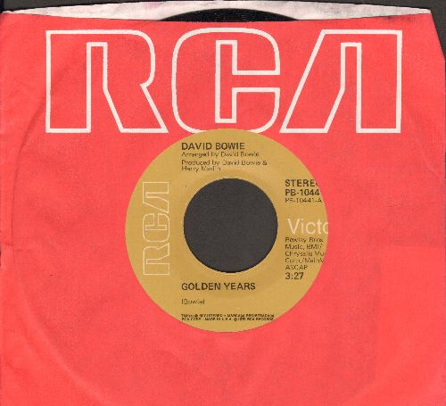 Bowie, David - Golden Years/Can You Hear Me (with RCA company sleeve) - VG7/ - 45 rpm Records