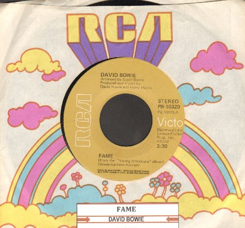 Bowie, David - Fame/Right (with RCA company sleeve and juke box label) - VG7/ - 45 rpm Records