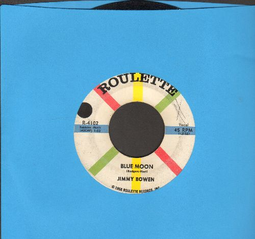 Bowen, Jimmy - Blue Moon/My Kind Of Woman (wol/sol) - VG7/ - 45 rpm Records