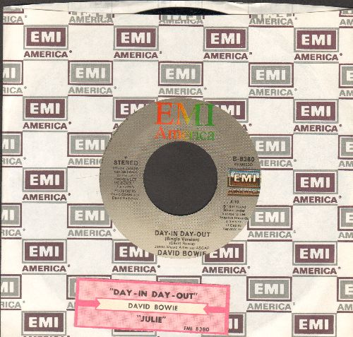 Bowie, David - Day-In Day-Out/Julie (with juke box label and EMI company sleeve) - EX8/ - 45 rpm Records