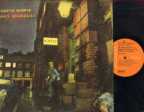 Bowie, David - The Rise And Fall Of Ziggy Stardust And The Spiders From Mars: Starman, It Ain't Easy, Five Years, Star (vinyl STEREO LP record) - VG7/VG7 - LP Records