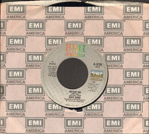 Bowie, David - Without You/Criminal World (with EMI company sleeve) - NM9/ - 45 rpm Records