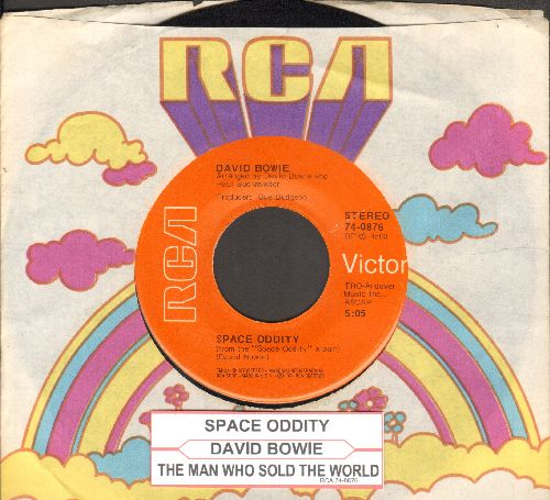 Bowie, David - Space Oddity/The Man Who Sold The World (with RCA company sleeve and juke box label) - EX8/ - 45 rpm Records