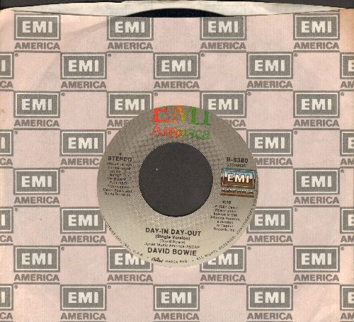 Bowie, David - Day-In Day-Out/Julie (with EMI company sleeve) - EX8/ - 45 rpm Records