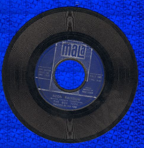 Box Tops - Neon Rainbow/Everything I Am  - VG7/ - 45 rpm Records
