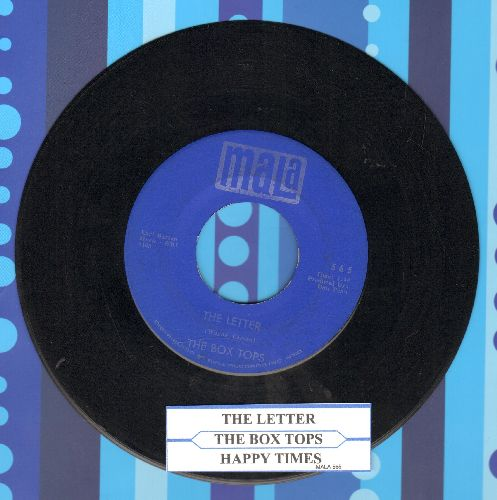 Box Tops - The Letter/Happy Times (with juke box label) - EX8/ - 45 rpm Records