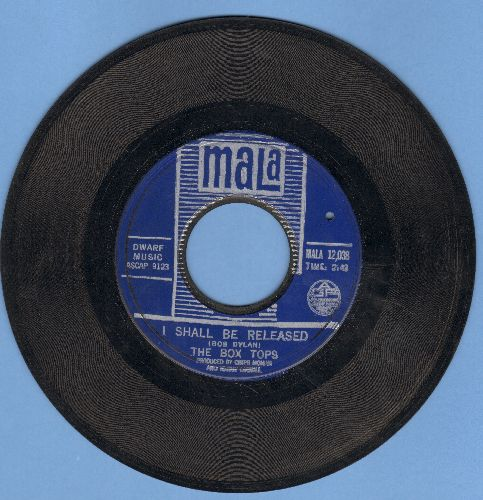 Box Tops - I Shall Be Released/I Must Be The Devil (bb) - EX8/ - 45 rpm Records