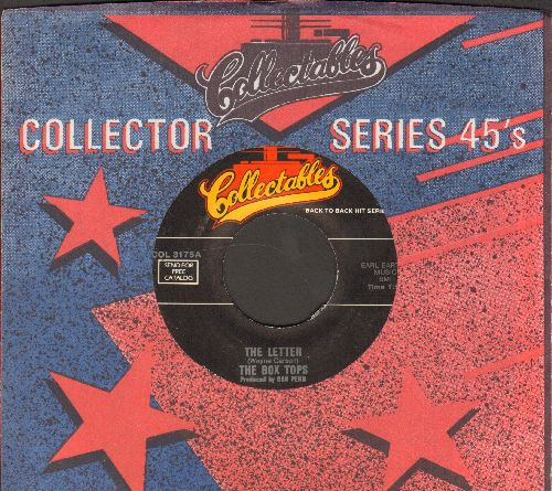 Box Tops - Sweet Cream Ladies, Forward March/The Letter (double-hit re-issue with Collectables company sleeve) - EX8/ - 45 rpm Records