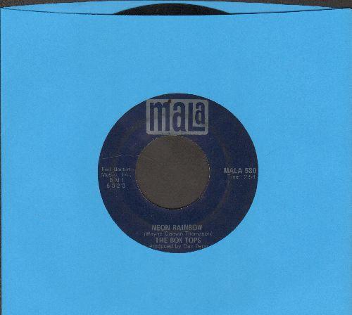 Box Tops - Neon Rainbow/Everything I Am  - EX8/ - 45 rpm Records