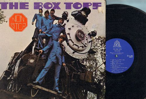 Box Tops - Non Stop: Choo-Choo Train, I'm Movin' On, I Met Her In Church, People Gonna Talk, Rock Me Baby (vinyl STEREO LP record, gate-fold cover) - NM9/NM9 - LP Records