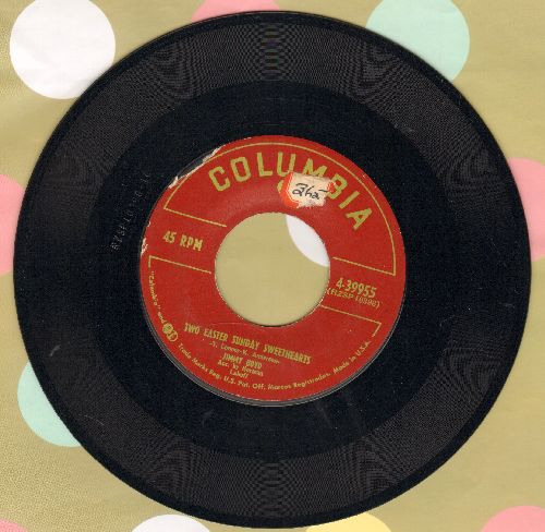 Boyd, Jimmy - Two Easter Sunday Sweethearts/My Bunny And My Sister Sue (sol) - EX8/ - 45 rpm Records